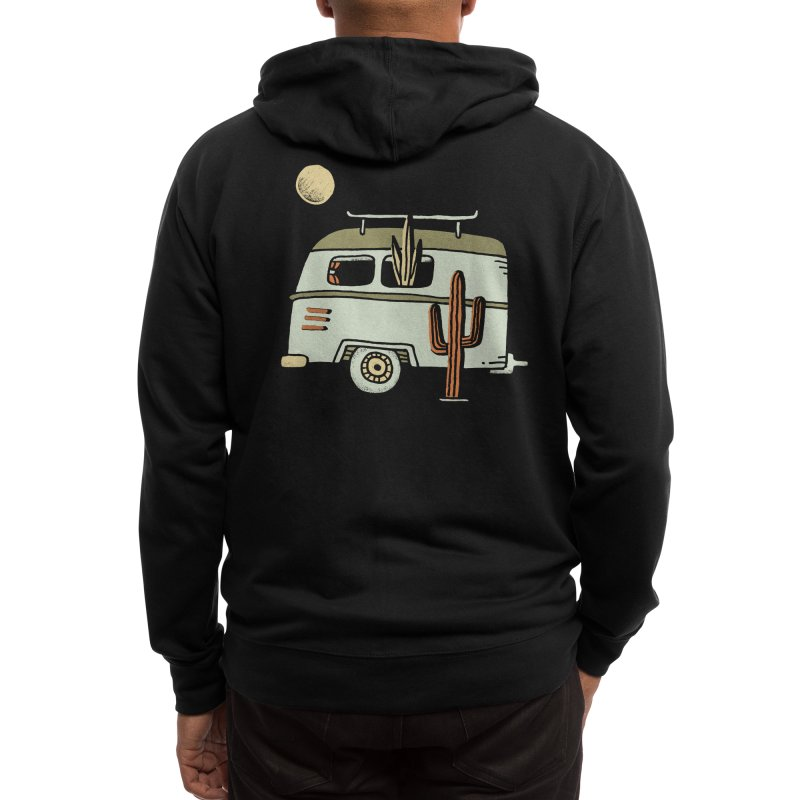 Van Life Men's Zip-Up Hoody by Threadless Artist Shop