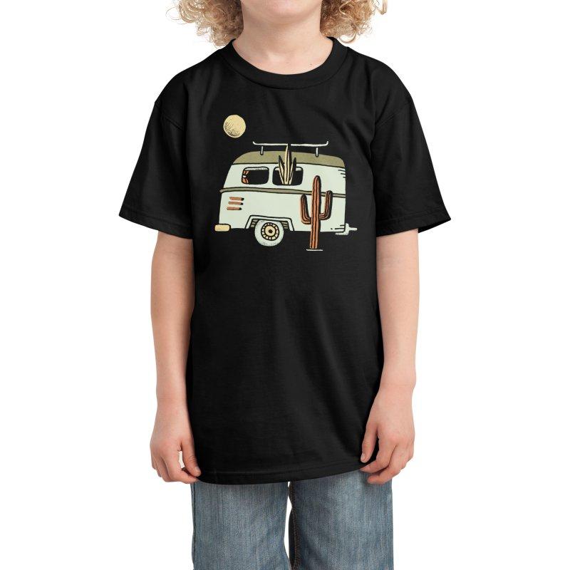 Van Life Kids T-Shirt by Threadless Artist Shop