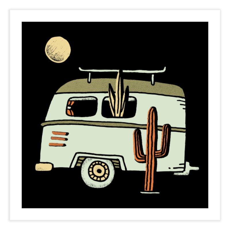 Van Life Home Fine Art Print by Threadless Artist Shop
