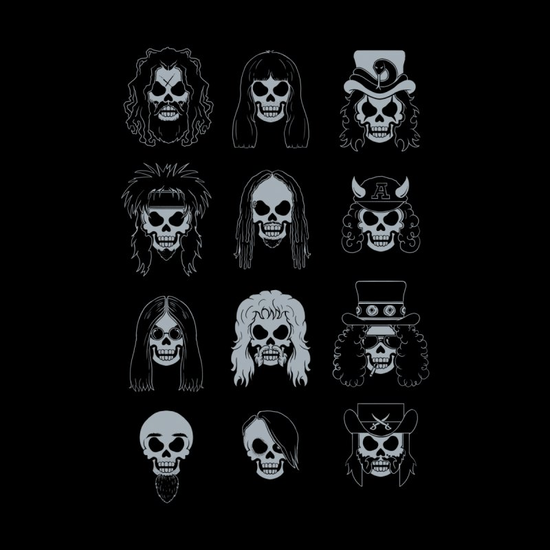 METALHEADS Kids T-Shirt by Threadless Artist Shop