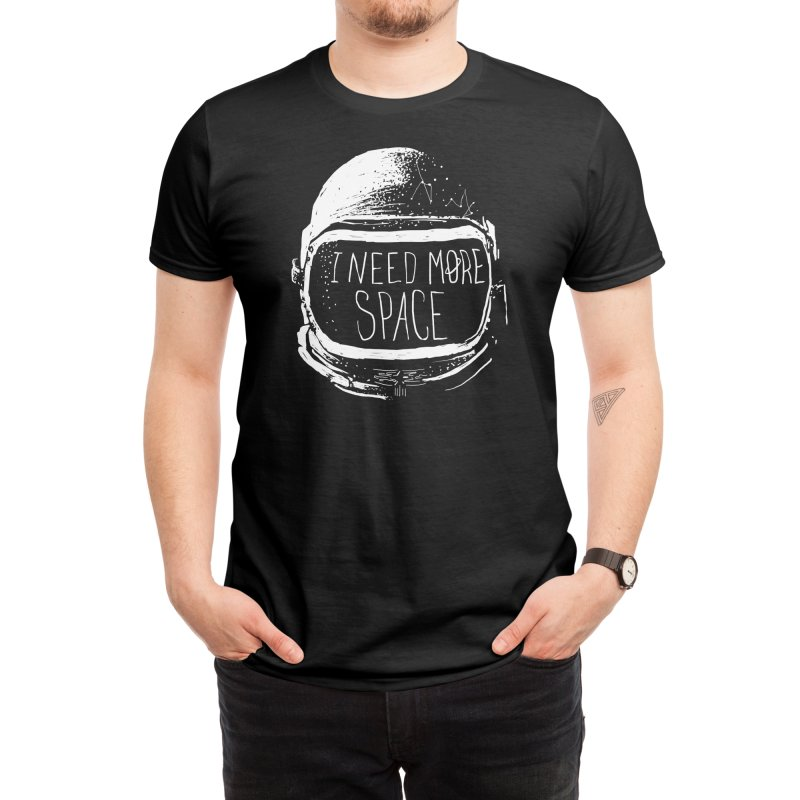 Never Date an Astronaut Men's T-Shirt by Threadless Artist Shop