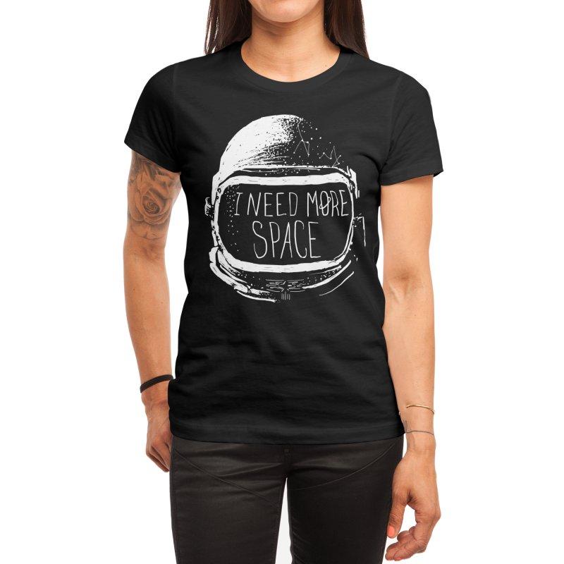 Never Date an Astronaut Women's T-Shirt by Threadless Artist Shop