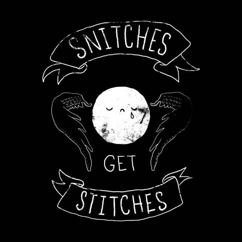 Snitches Get Stitches Men's T-Shirt by Threadless Artist Shop