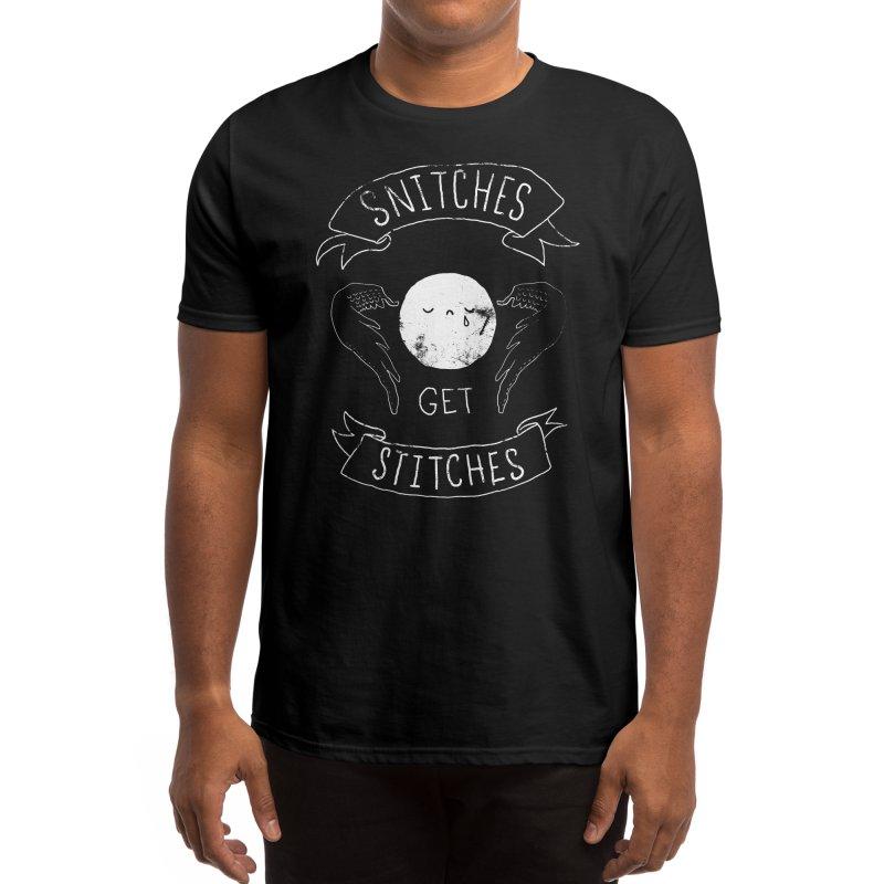 Snitches Get Stitches Men's T-Shirt by Threadless Artist Shop