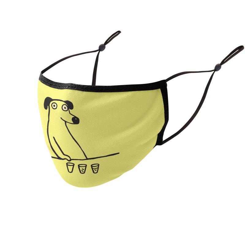 Dog Drunkard Accessories Face Mask by Threadless Artist Shop