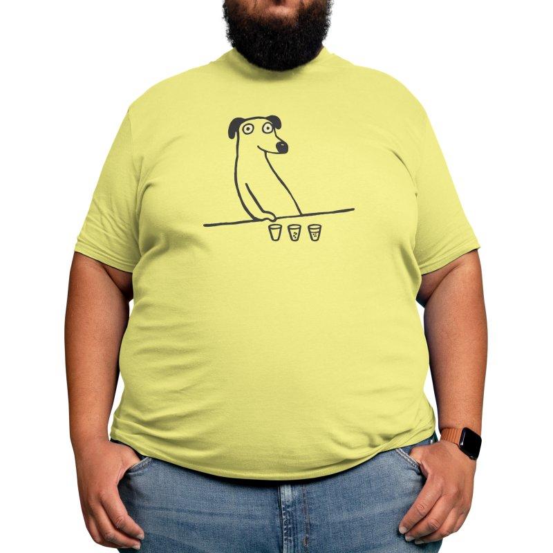 Dog Drunkard Men's T-Shirt by Threadless Artist Shop