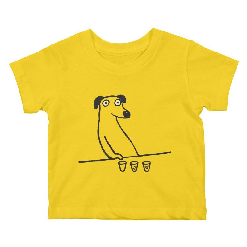 Dog Drunkard Kids Baby T-Shirt by Threadless Artist Shop