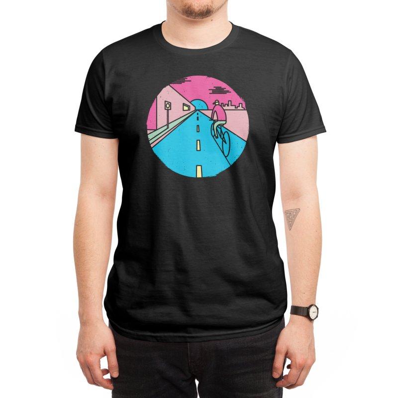 Silent ride Men's T-Shirt by Threadless Artist Shop