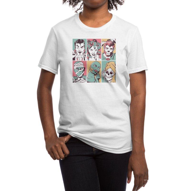 The Monster Mash Women's T-Shirt by Threadless Artist Shop