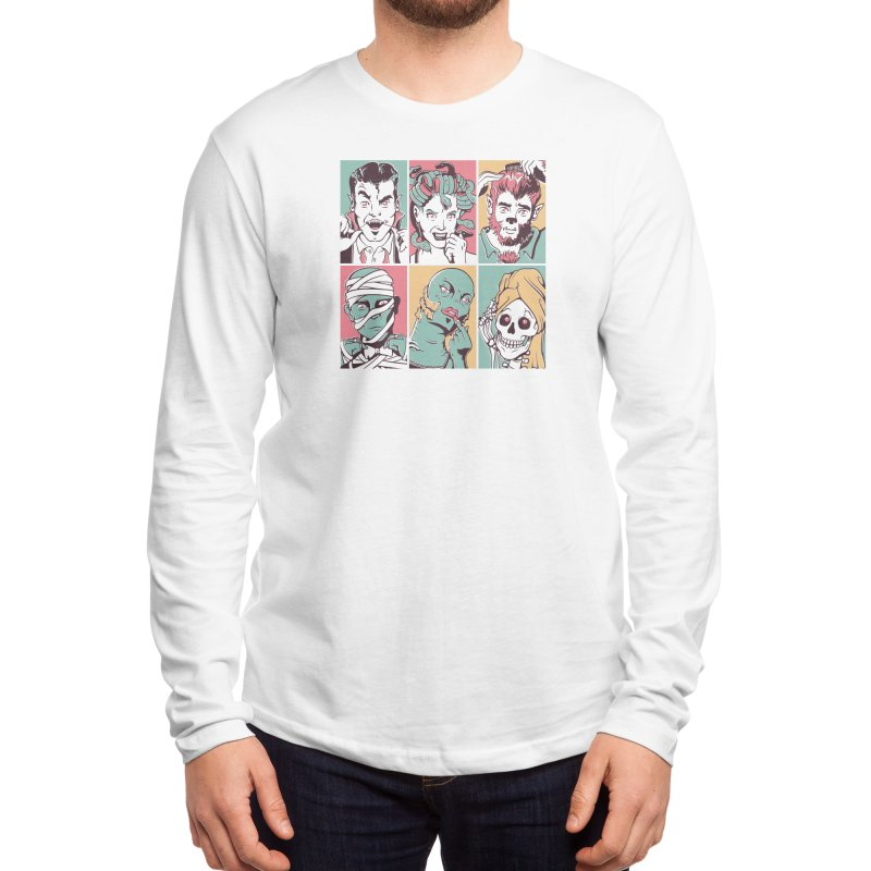 The Monster Mash Men's Longsleeve T-Shirt by Threadless Artist Shop