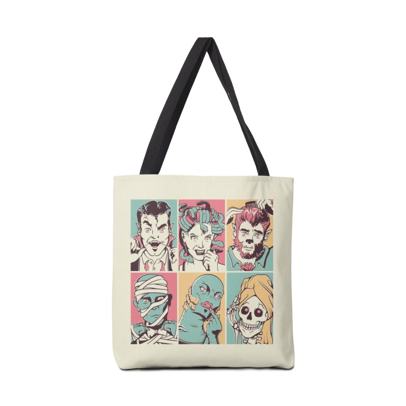 The Monster Mash Accessories Bag by Threadless Artist Shop
