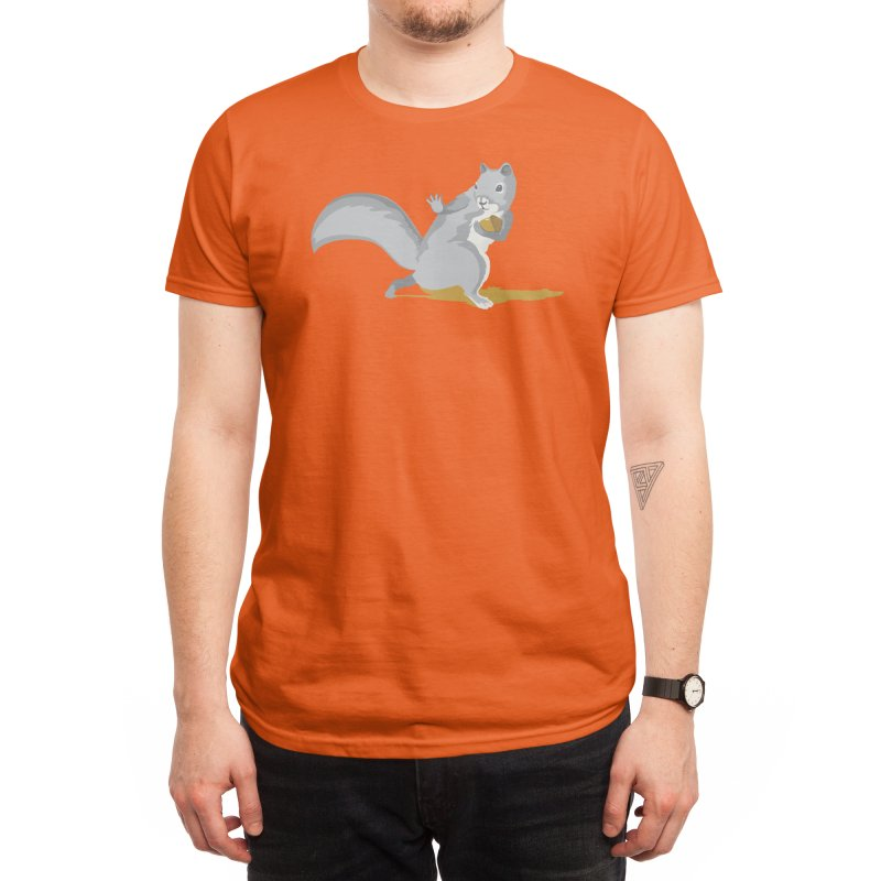 All-Conference Squirrel Men's T-Shirt by Threadless Artist Shop