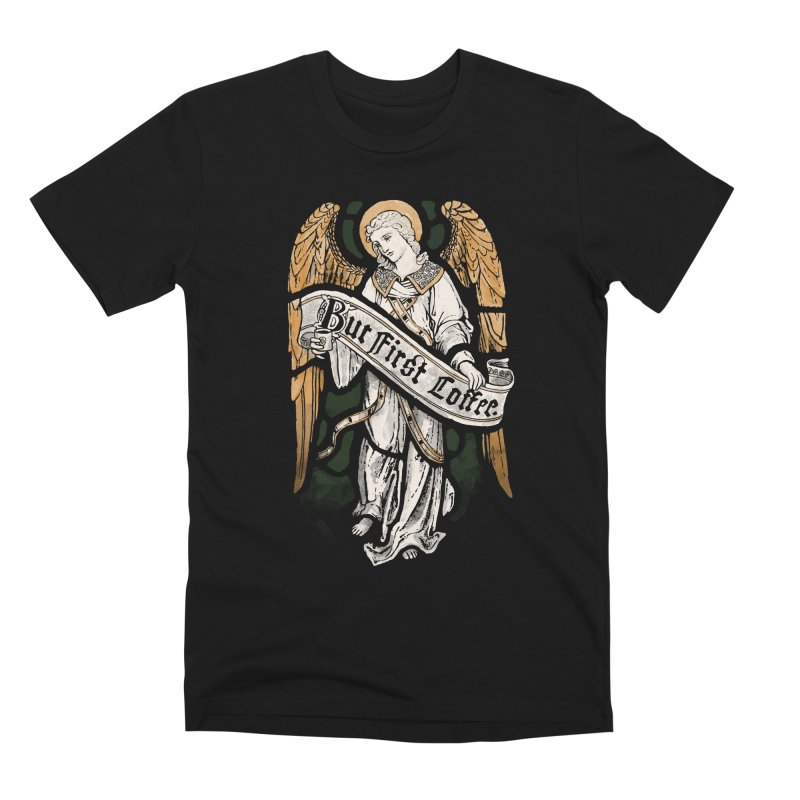 Holy Coffee Men's T-Shirt by Threadless Artist Shop