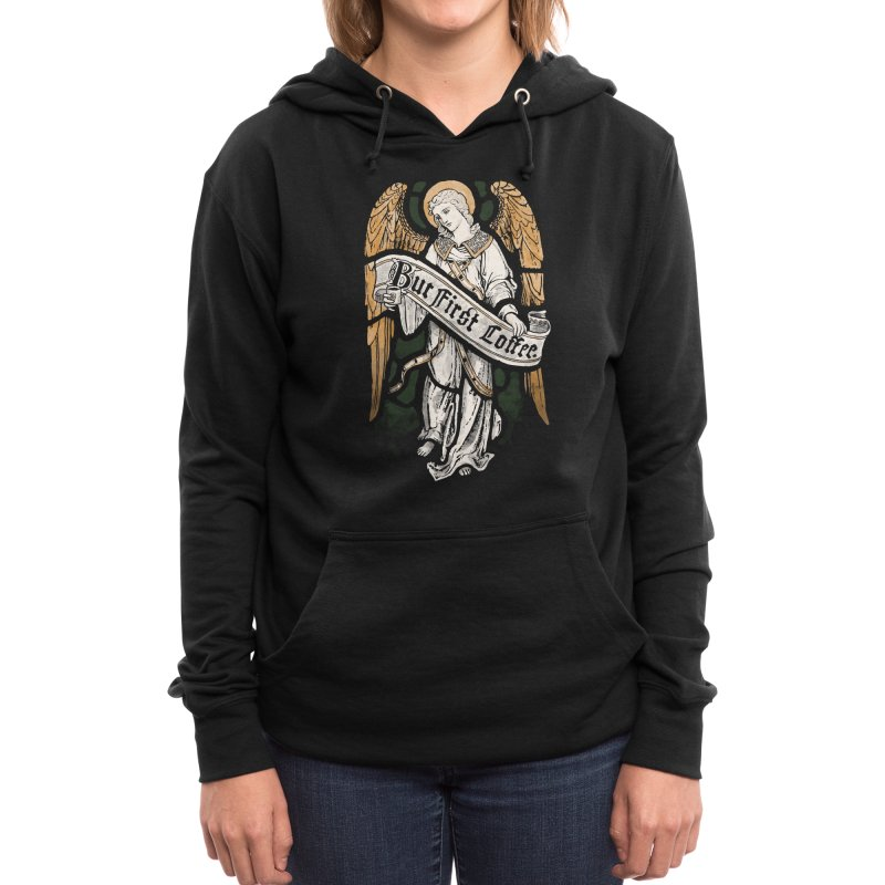 Holy Coffee Women's Pullover Hoody by Threadless Artist Shop