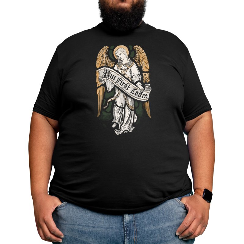 Holy Coffee Men's T-Shirt by Threadless Artist Shop