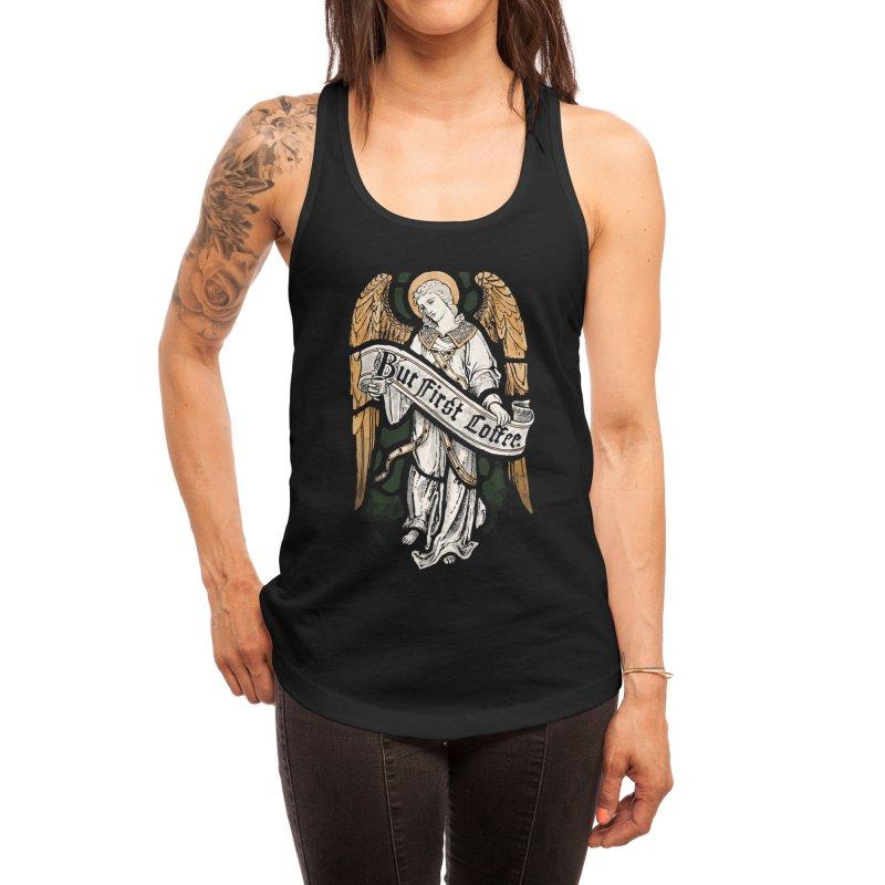 Holy Coffee Women's Tank by Threadless Artist Shop