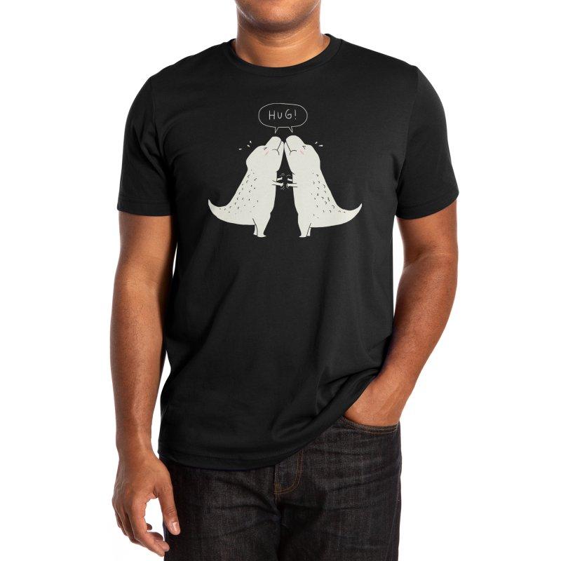 Dino Hug Men's T-Shirt by Threadless Artist Shop