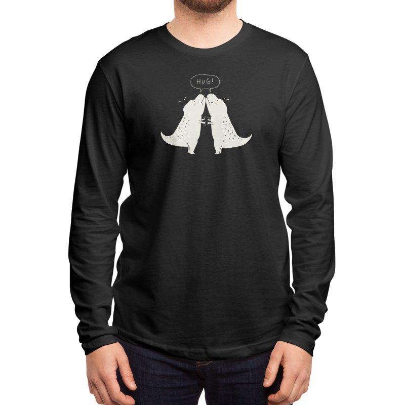 Dino Hug Men's Longsleeve T-Shirt by Threadless Artist Shop