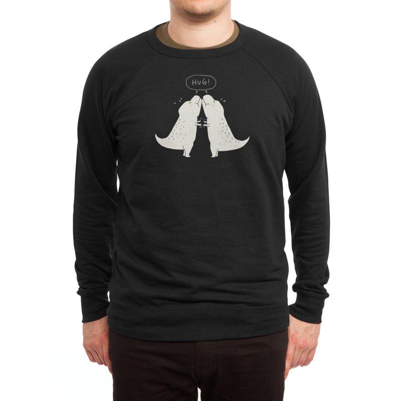 Dino Hug Men's Sweatshirt by Threadless Artist Shop