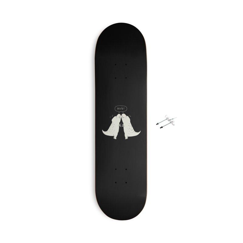 Dino Hug Accessories Skateboard by Threadless Artist Shop