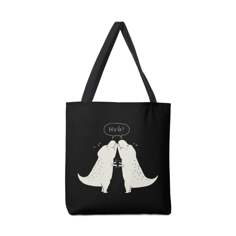 Dino Hug Accessories Bag by Threadless Artist Shop