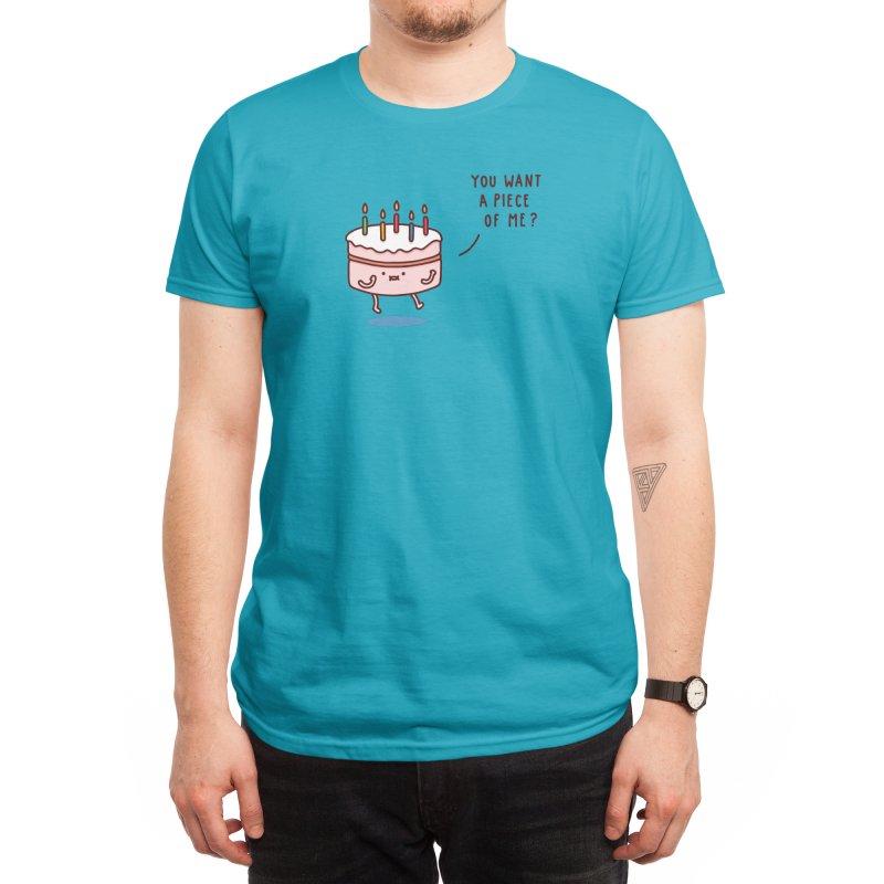 Cake Men's T-Shirt by Threadless Artist Shop