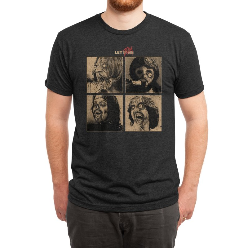 LET IT (ZOM)BE Men's T-Shirt by Threadless Artist Shop
