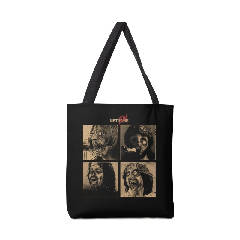 LET IT (ZOM)BE Accessories Bag by Threadless Artist Shop