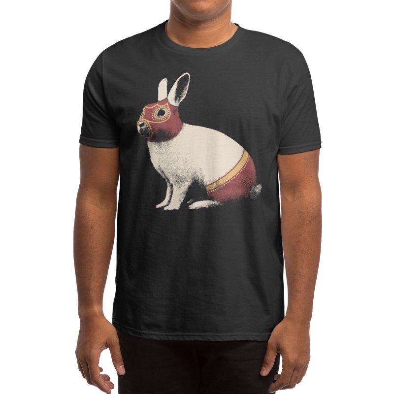 Rabbit Wrestler Men's T-Shirt by Threadless Artist Shop