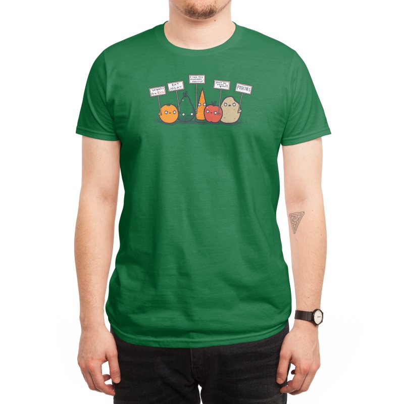 I Hate Vegans Men's T-Shirt by Threadless Artist Shop