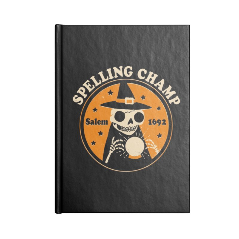 Spelling Champ Accessories Notebook by Threadless Artist Shop