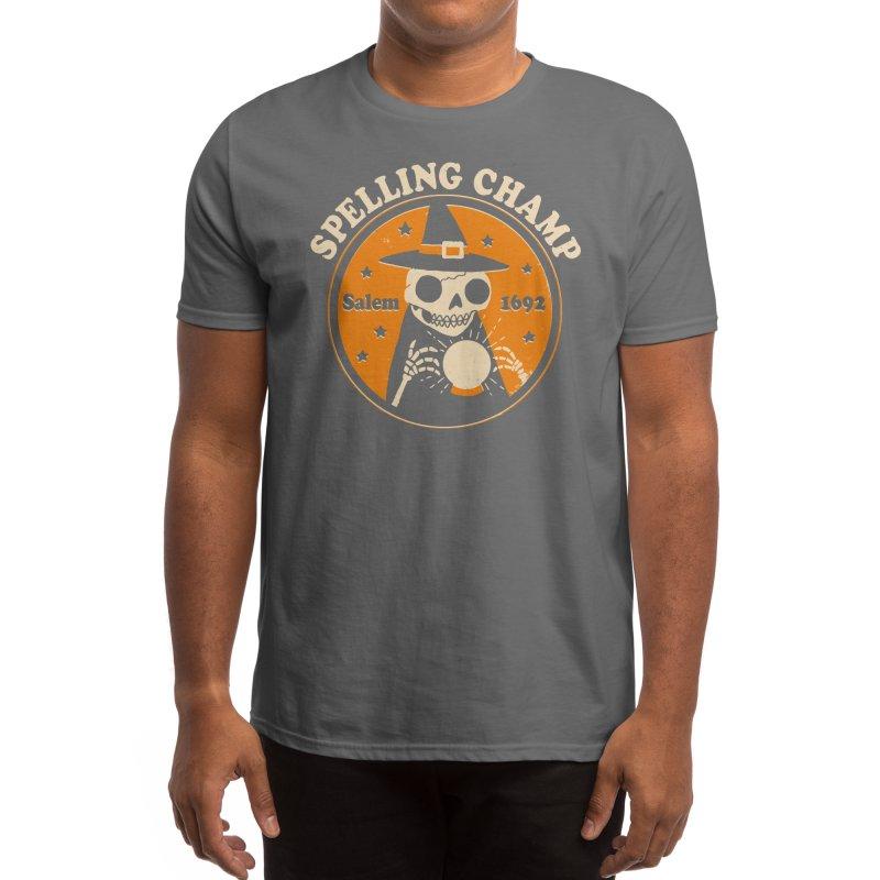 Spelling Champ Men's T-Shirt by Threadless Artist Shop