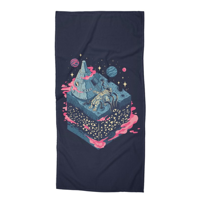 Contact Accessories Beach Towel by Threadless Artist Shop