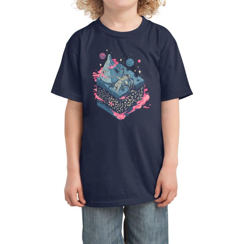 Contact Kids T-Shirt by Threadless Artist Shop