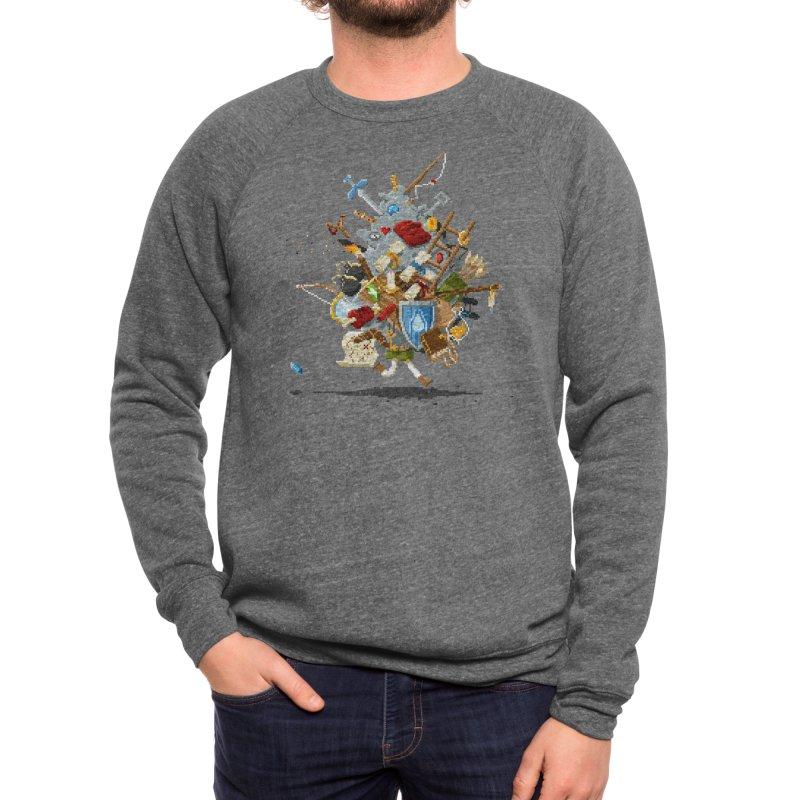 It's Dangerous to Go Alone! Take This Men's Sweatshirt by Threadless Artist Shop