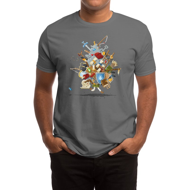 It's Dangerous to Go Alone! Take This Men's T-Shirt by Threadless Artist Shop
