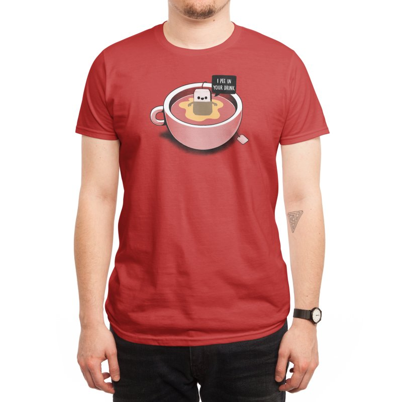 Hot Tea Men's T-Shirt by Threadless Artist Shop
