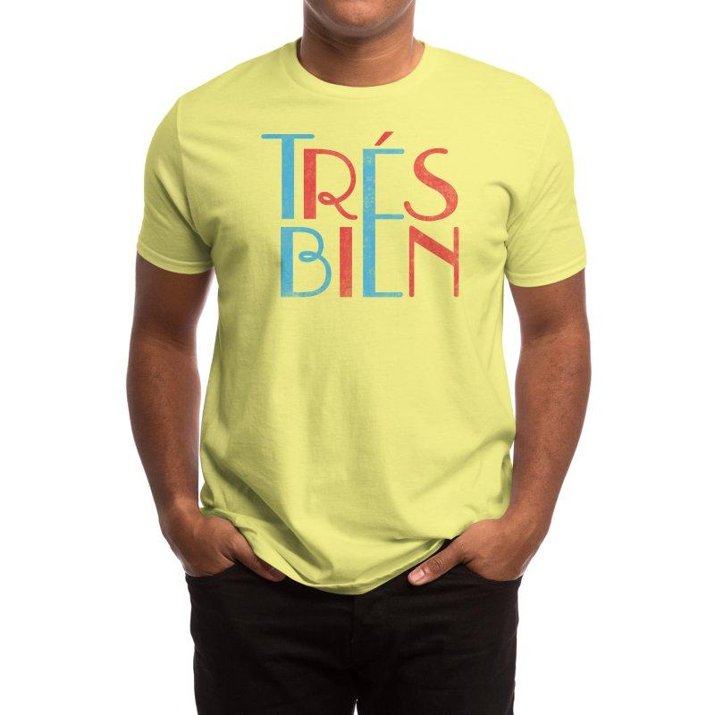 Tres Bien Men's T-Shirt by Threadless Artist Shop