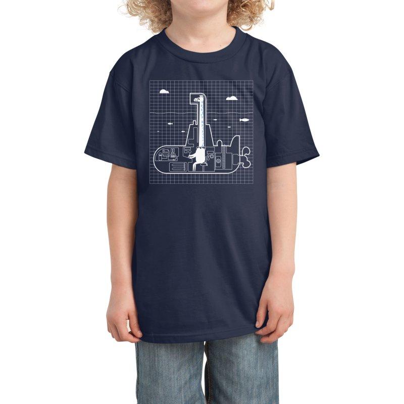 My little submarine. Kids T-Shirt by Threadless Artist Shop