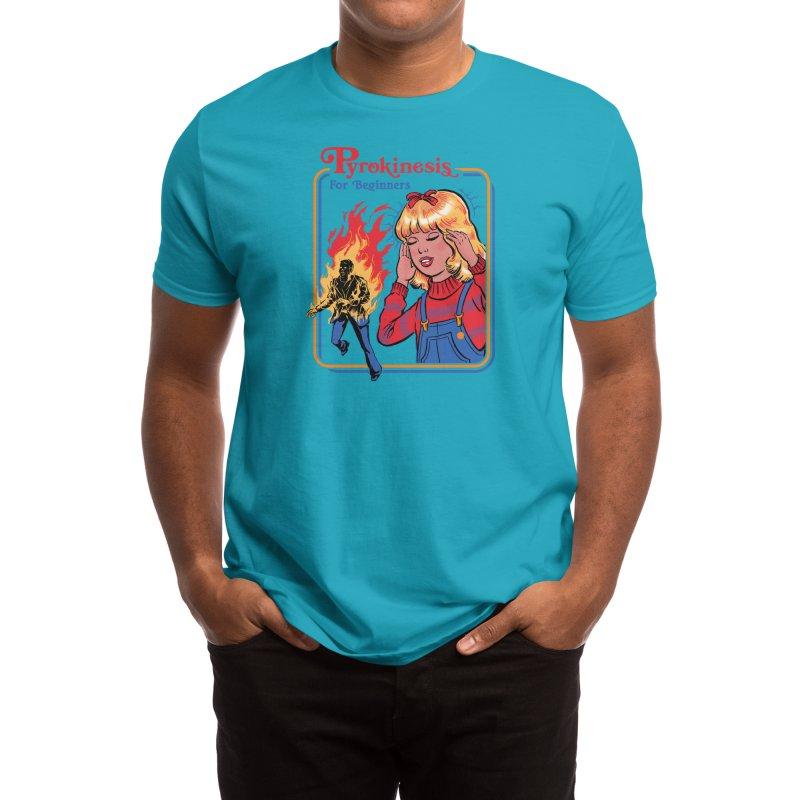 Pyrokinesis for Beginners (White Variant) Men's T-Shirt by Threadless Artist Shop