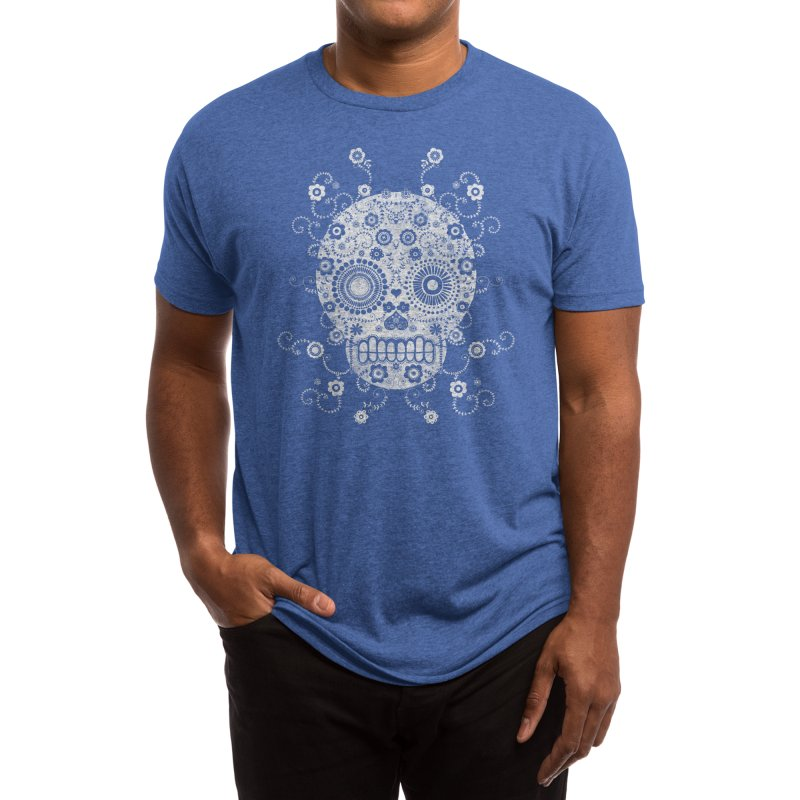 Sugar Skull Men's T-Shirt by Threadless Artist Shop