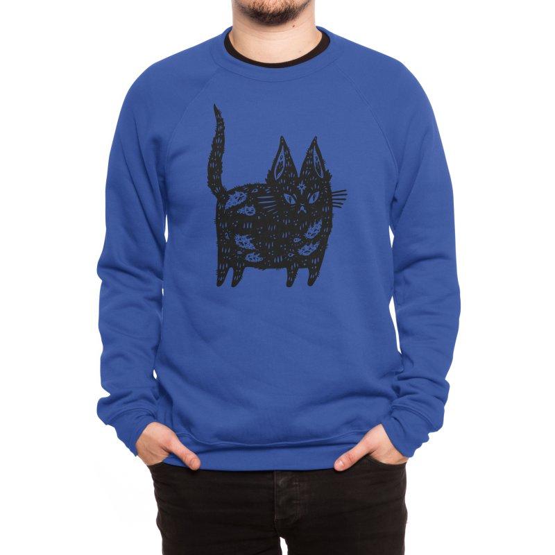 Fatty cat Men's Sweatshirt by Threadless Artist Shop