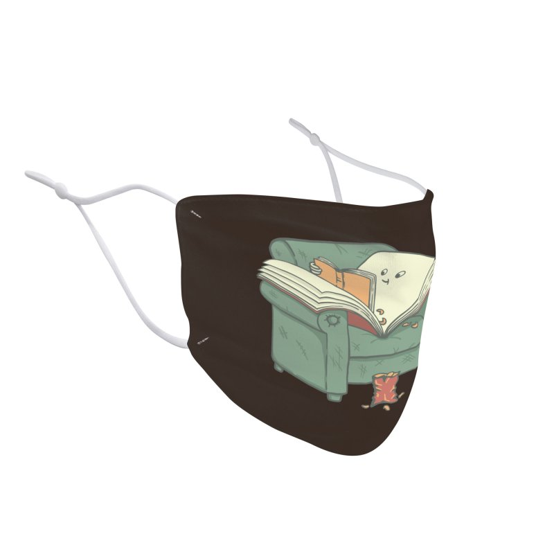 book reads Accessories Face Mask by Threadless Artist Shop