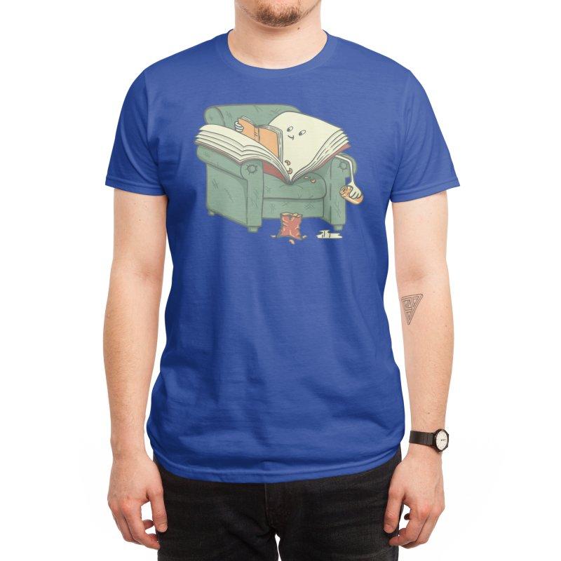 book reads Men's T-Shirt by Threadless Artist Shop