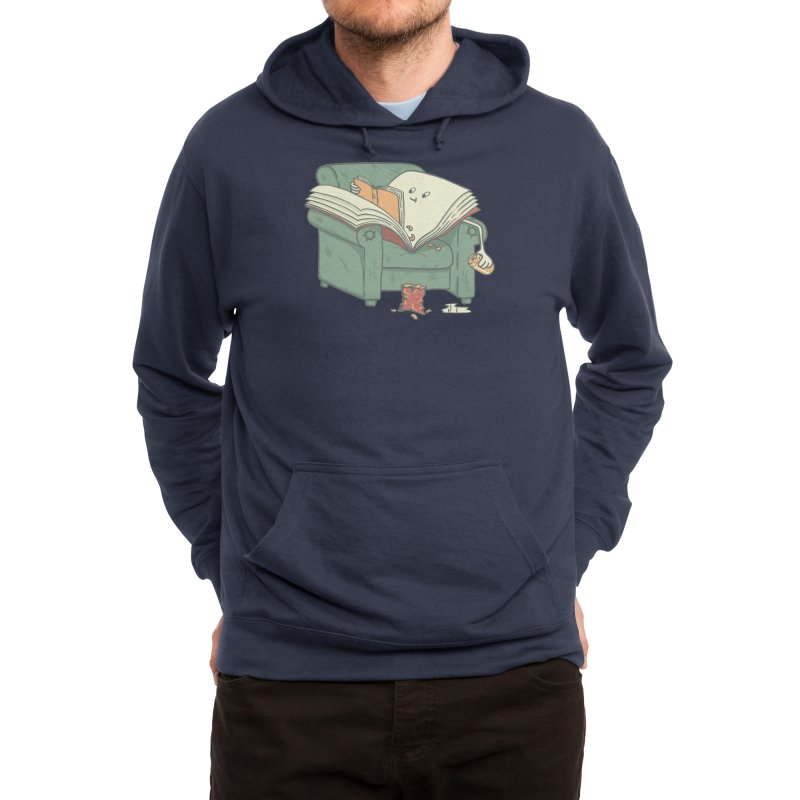 book reads Men's Pullover Hoody by Threadless Artist Shop
