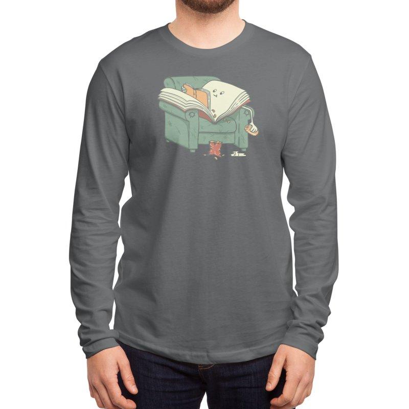 book reads Men's Longsleeve T-Shirt by Threadless Artist Shop