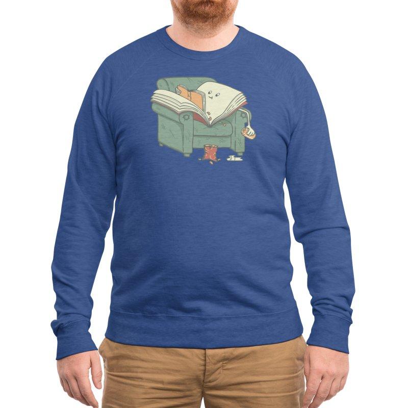 book reads Men's Sweatshirt by Threadless Artist Shop