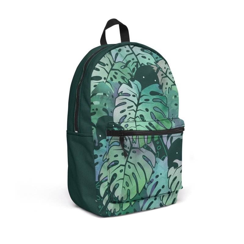 Monstera Monsters Accessories Bag by Threadless Artist Shop
