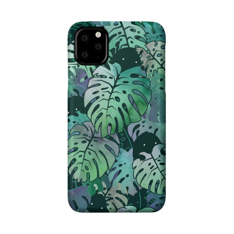 Monstera Monsters Accessories Phone Case by Threadless Artist Shop