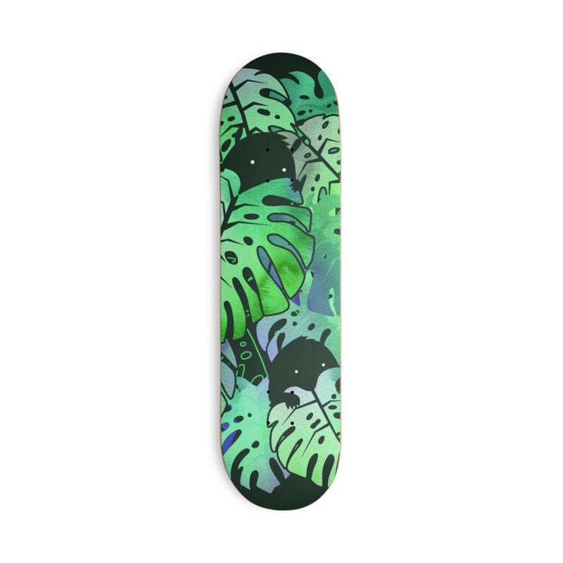 Monstera Monsters Accessories Skateboard by Threadless Artist Shop